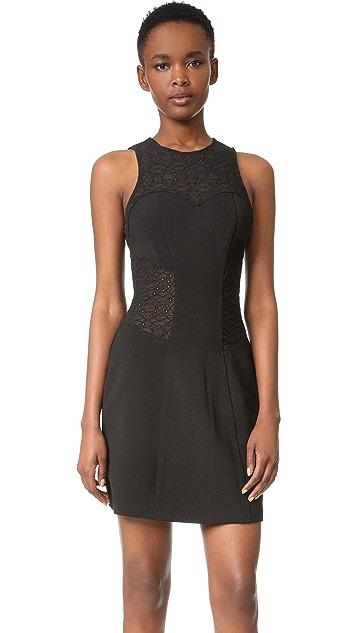 Jonathan Simkhai Burlesque Flare Dress