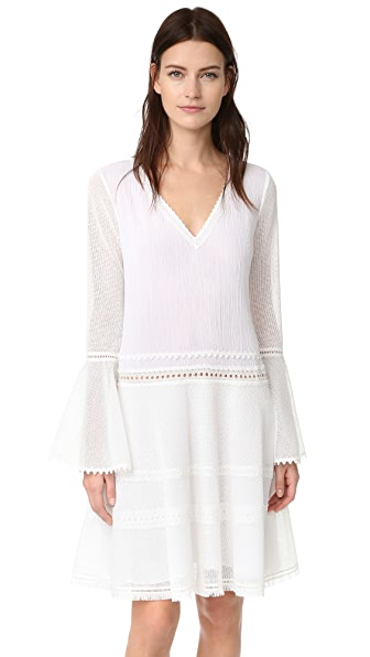 Jonathan Simkhai Tunic Dress In White