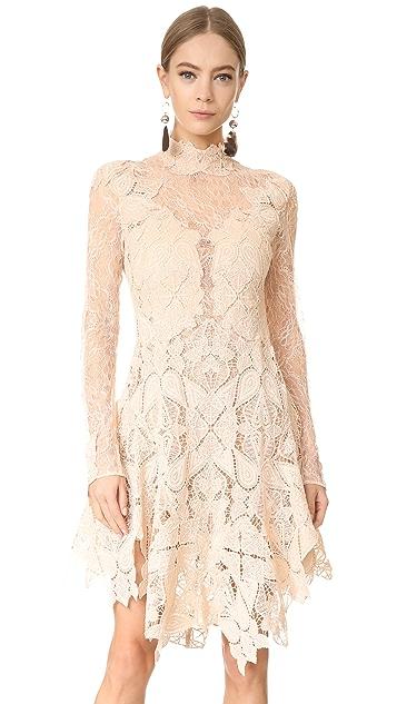 Jonathan Simkhai Multimedia Corded Lace Dress