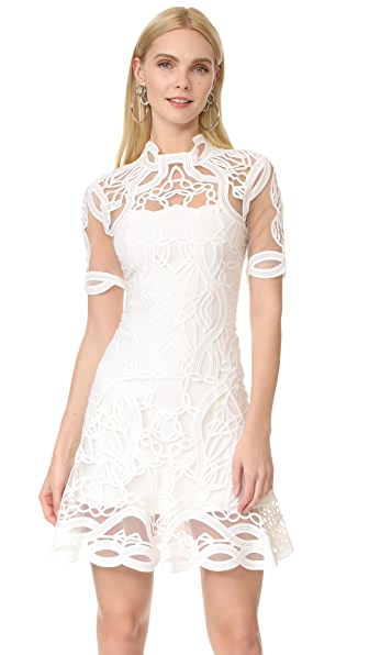 Jonathan Simkhai Truss Appliqu� Mini Dress