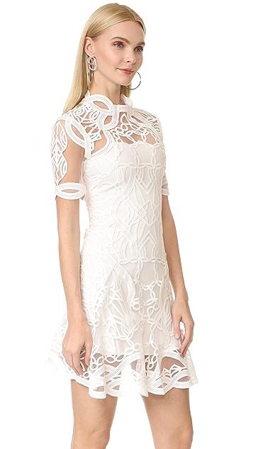 Jonathan Simkhai Truss Appliqué Mini Dress