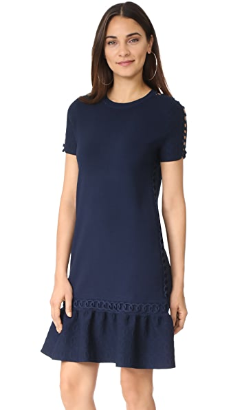 Jonathan Simkhai Chainlink Knit Boxy Dress
