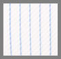 Bright White/Blue Pinstripe