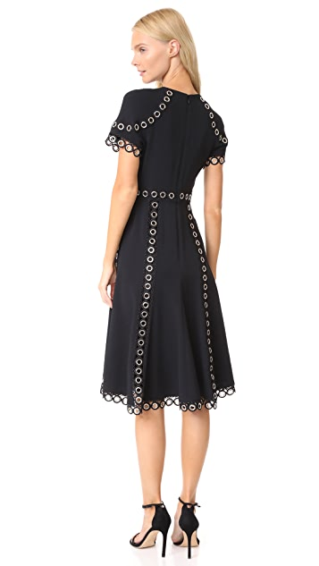 Jonathan Simkhai Grommet Stretch Dress