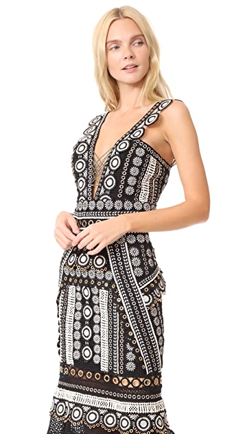 Jonathan Simkhai Gladiator Trumpet Dress