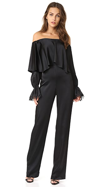 Jonathan Simkhai Fluid Jumpsuit In Black