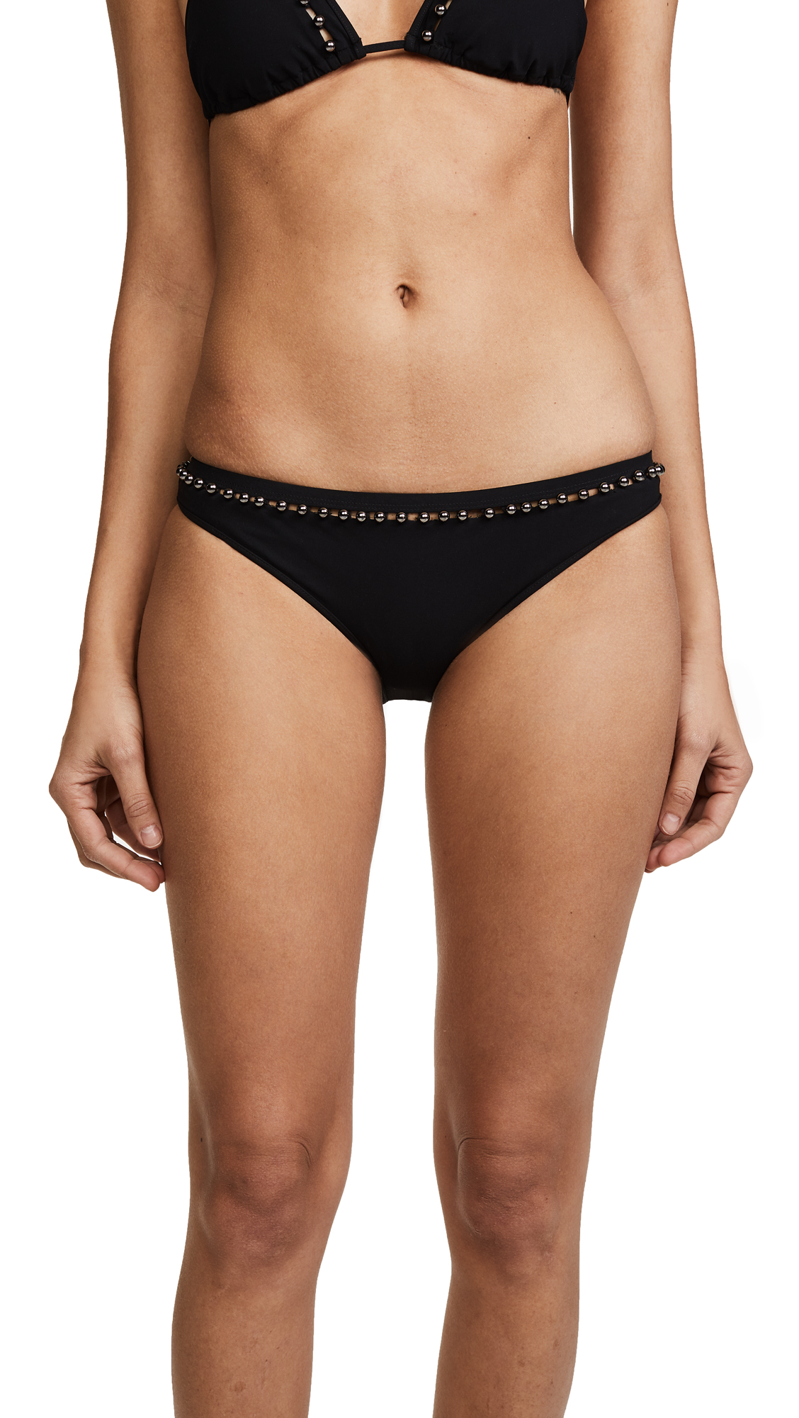 Jonathan Simkhai Studded Bikini Bottoms