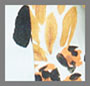 Леопардовый принт с изображением ананаса