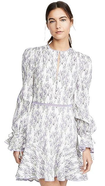 Jonathan Simkhai Mallorca Long Sleeve Dress
