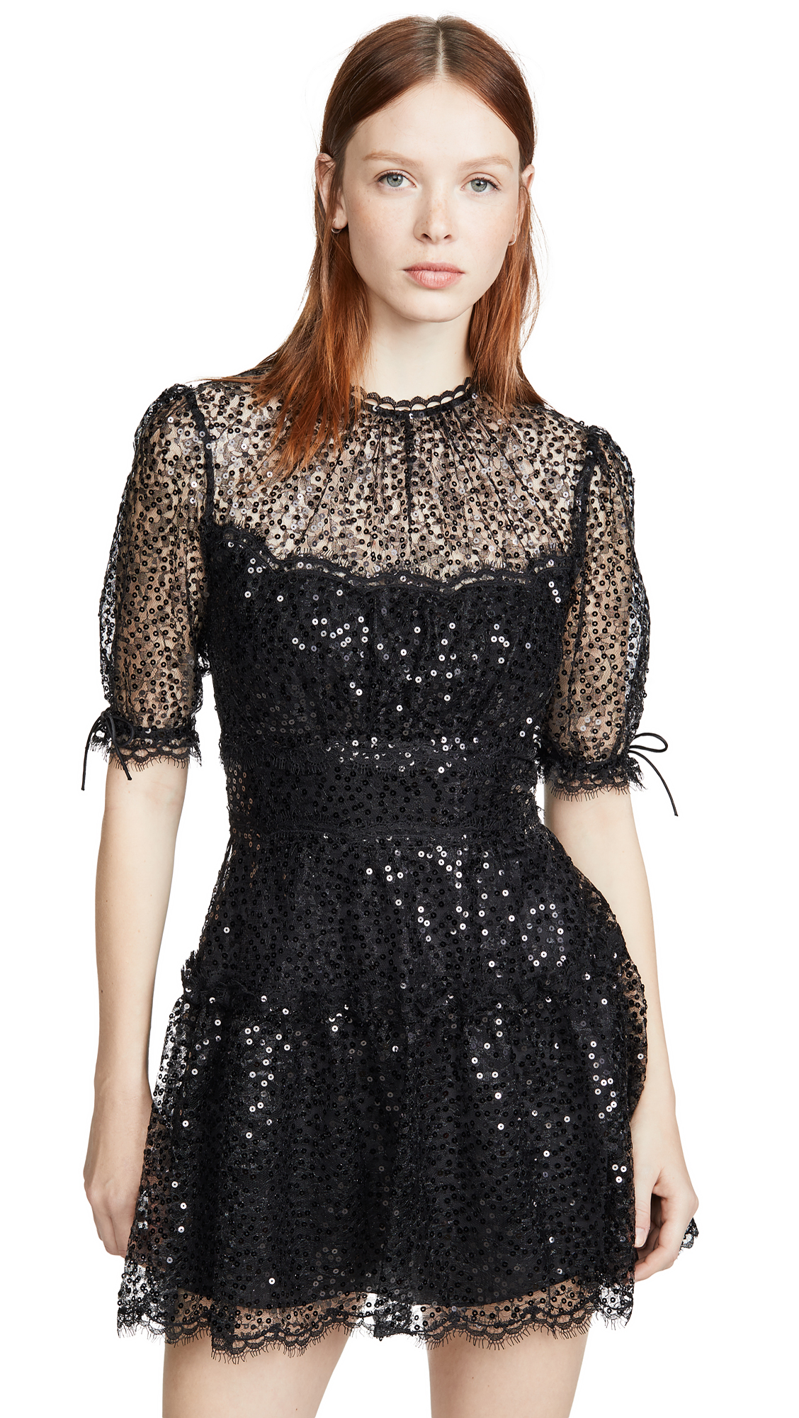 Buy Jonathan Simkhai online - photo of Jonathan Simkhai Sequined Mini Dress