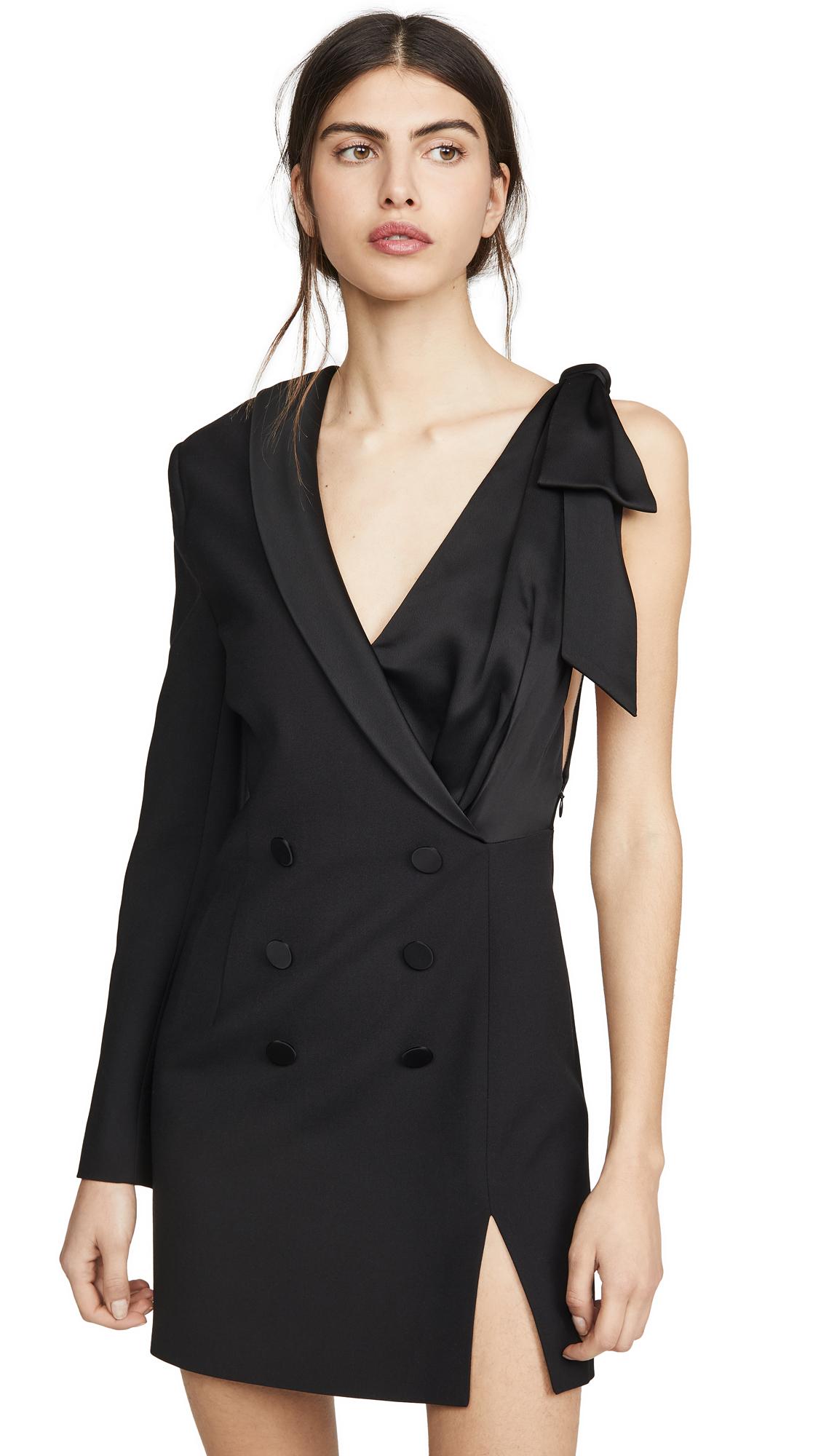 Buy Jonathan Simkhai online - photo of Jonathan Simkhai Luxe Satin Combo Suit Dress