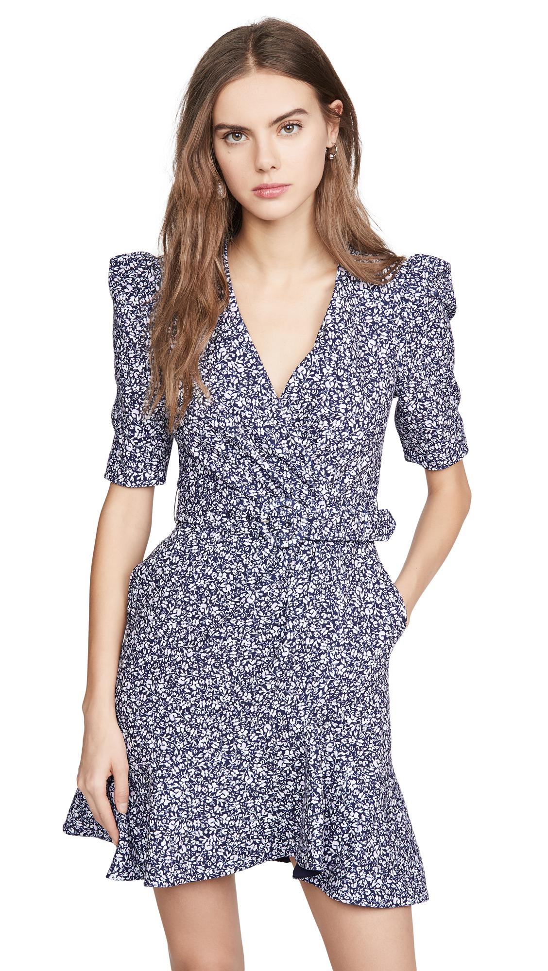 Jonathan Simkhai Evelyn Floral Crepe Dress - 30% Off Sale