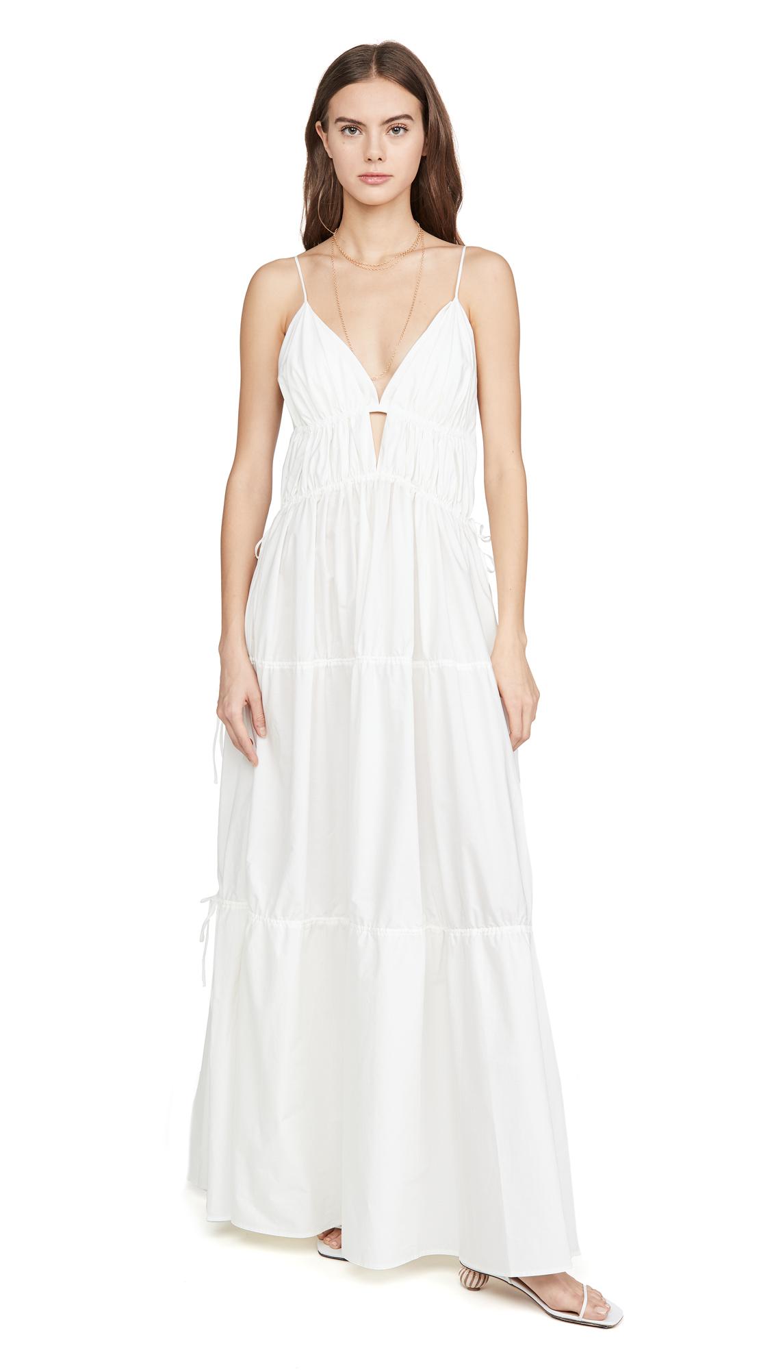 Buy Jonathan Simkhai online - photo of Jonathan Simkhai April Parachute Maxi Dress