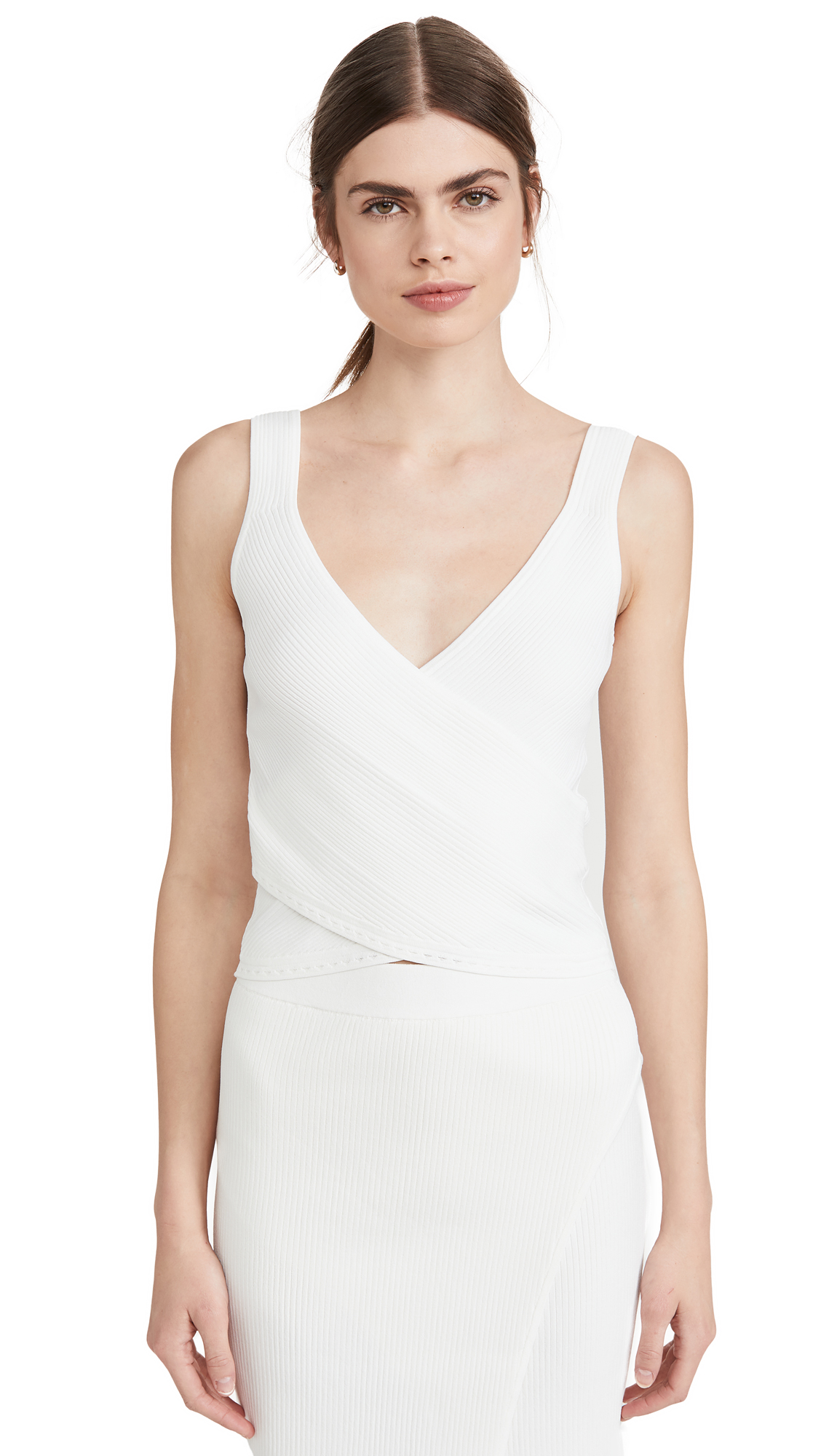 Buy Jonathan Simkhai online - photo of Jonathan Simkhai Sleeveless Wrap Top