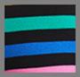 Black Multi Stripe