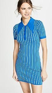 JoosTricot Трикотажное мини-платье в стиле поло