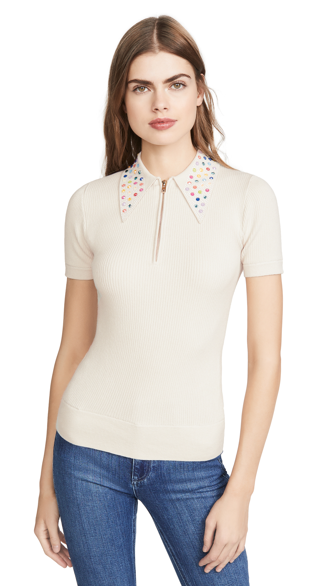 Buy JoosTricot online - photo of JoosTricot Polo with Swarovski Crystal Collar