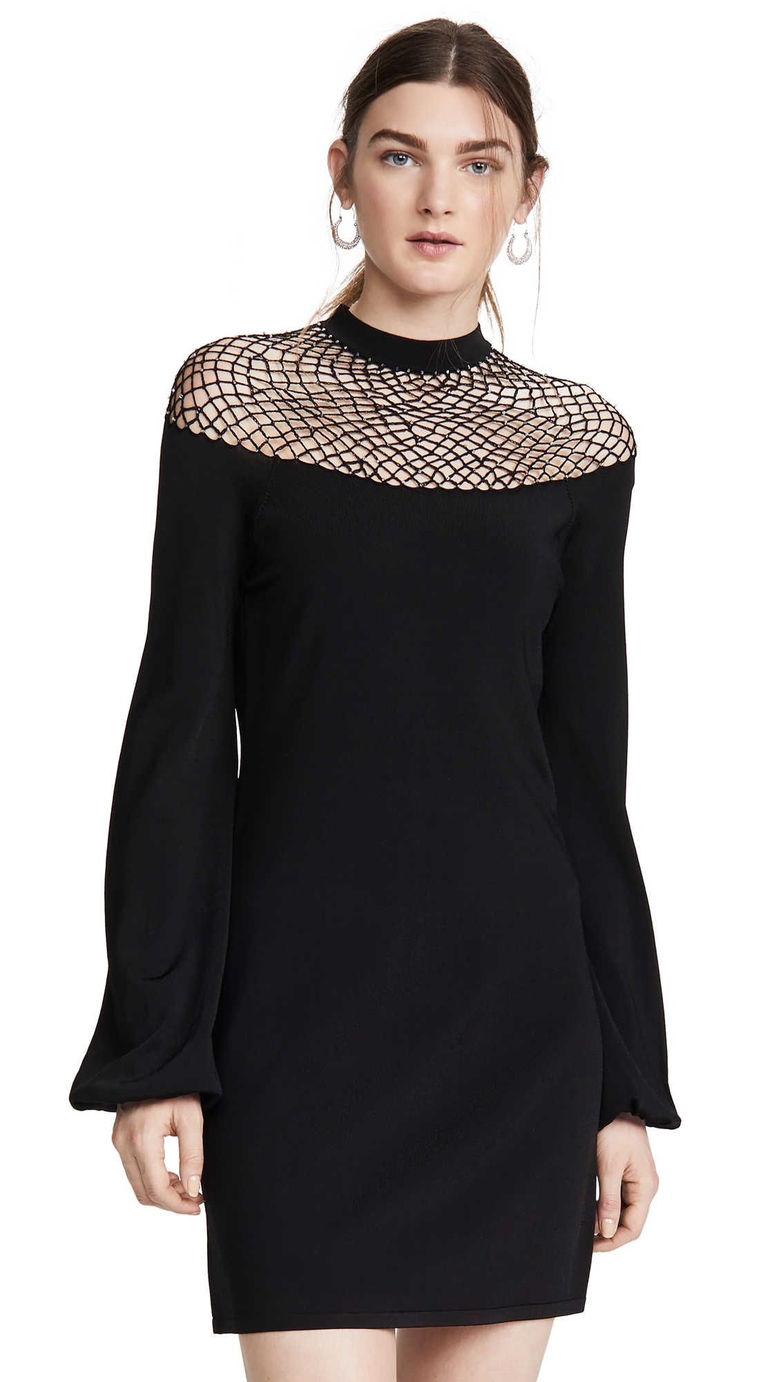 Buy JoosTricot Fishnet Dress with Swarovski Crystals online beautiful JoosTricot Clothing, Dresses