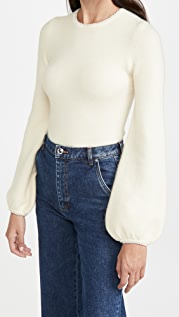 JoosTricot Bell Sleeve Top