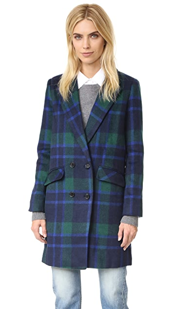 J.O.A. Plaid Coat