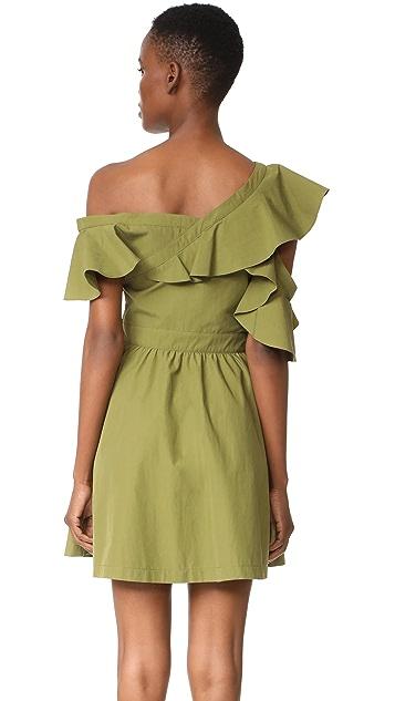 J.O.A. Off Shoulder Dress