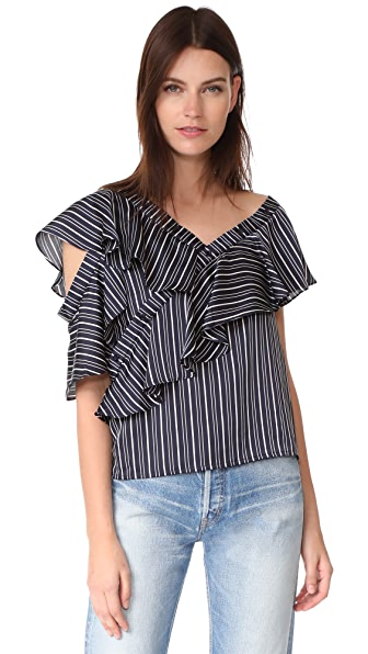 J.O.A. Off Shoulder Blouse