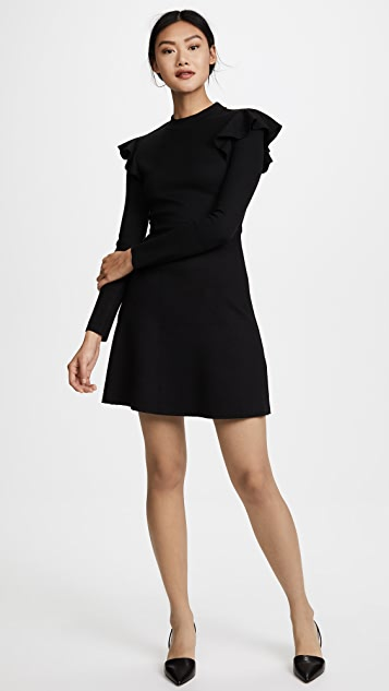 J.O.A. Long Sleeve Dress