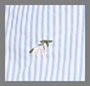 Blue/Ivory Stripe