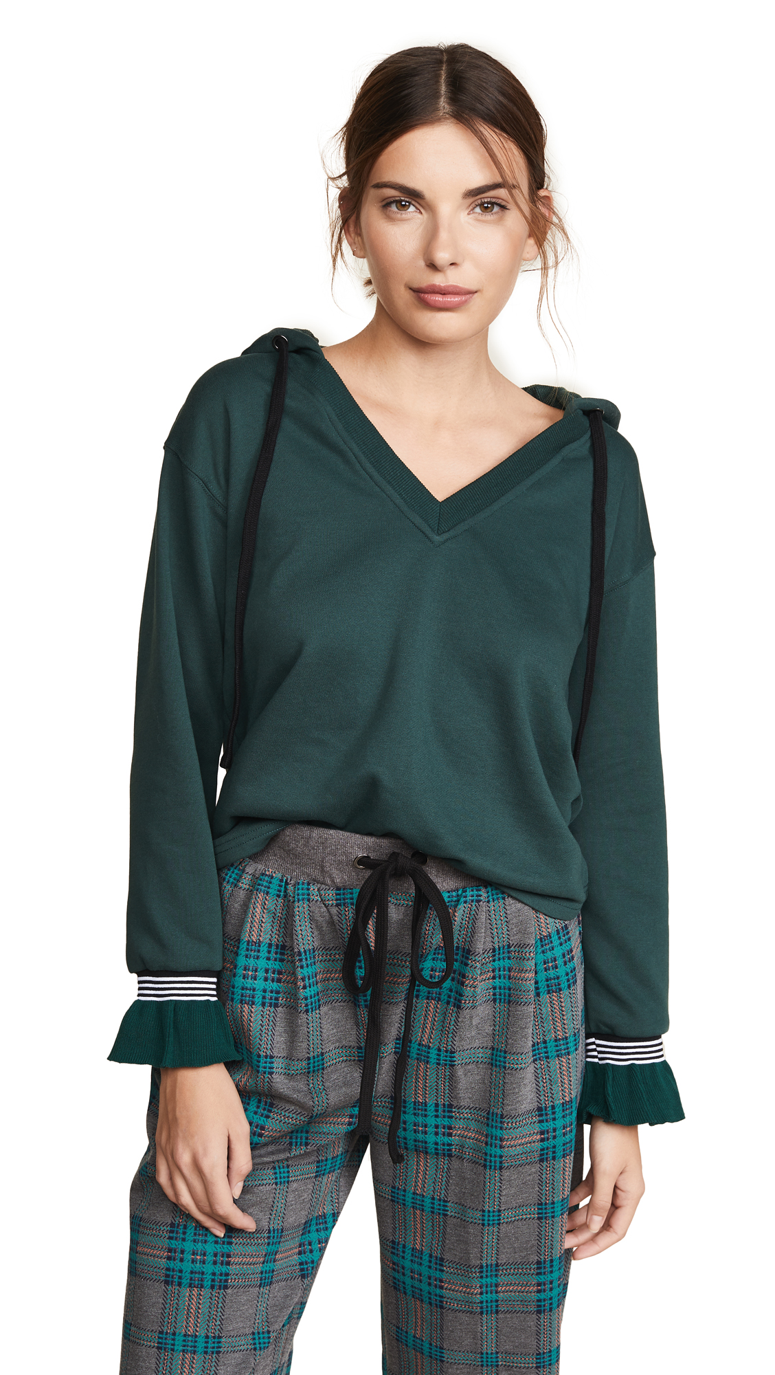 J.O.A. Pullover Hoodie Sweatshirt In Forest