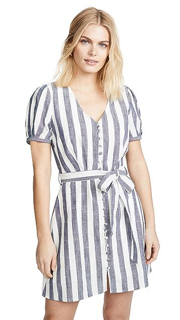 J.O.A. Striped Mini Dress
