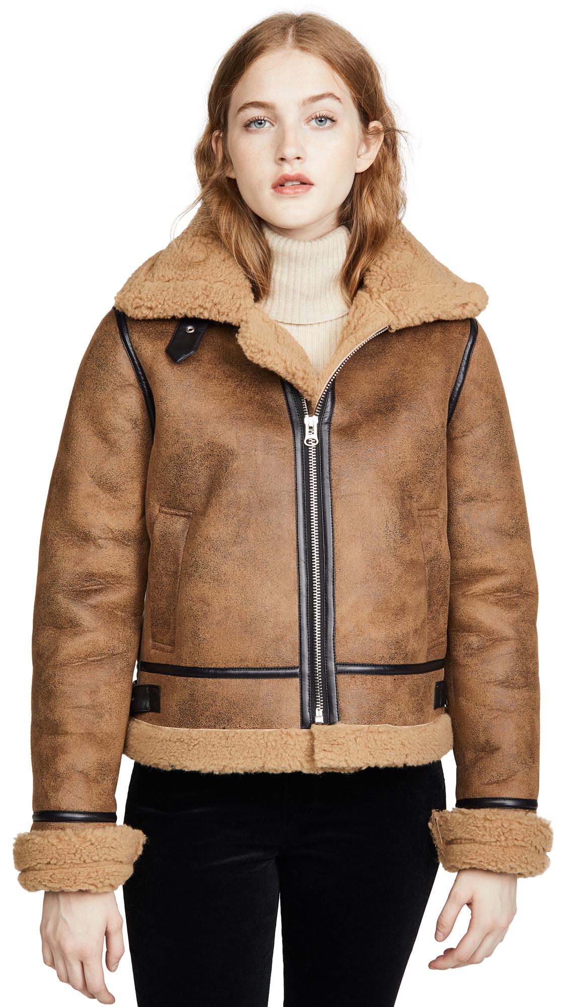 Buy J.O.A. online - photo of J.O.A. Shearling Jacket