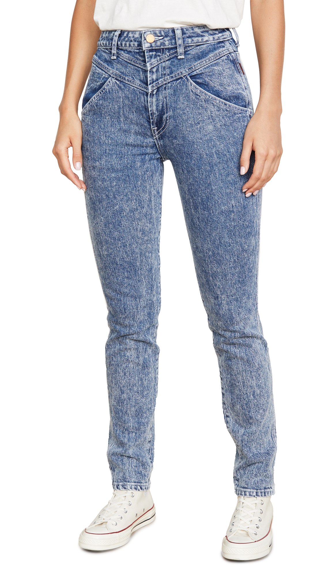 Buy Jordache online - photo of Jordache Mixed Vintage Crop Jeans