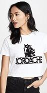 Jordache 马儿标志短款 T 恤