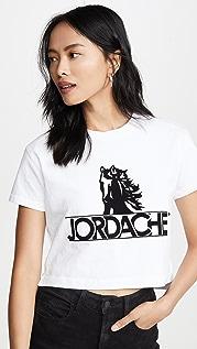 Jordache Укороченная футболка с логотипом Horse