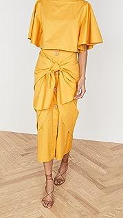 Johanna Ortiz Fresh Lemon Skirt