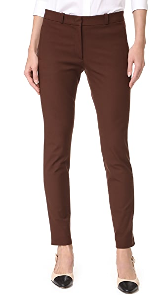 Joseph New Eliston Pants In Rust