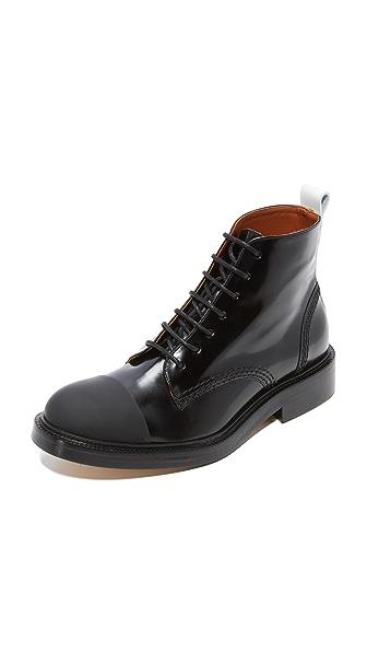 Joseph Arthur Miners Boots In Bianco