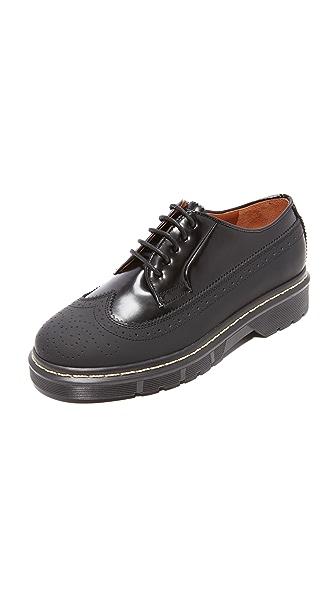 Joseph Dennis Rubber Brogue Shoes