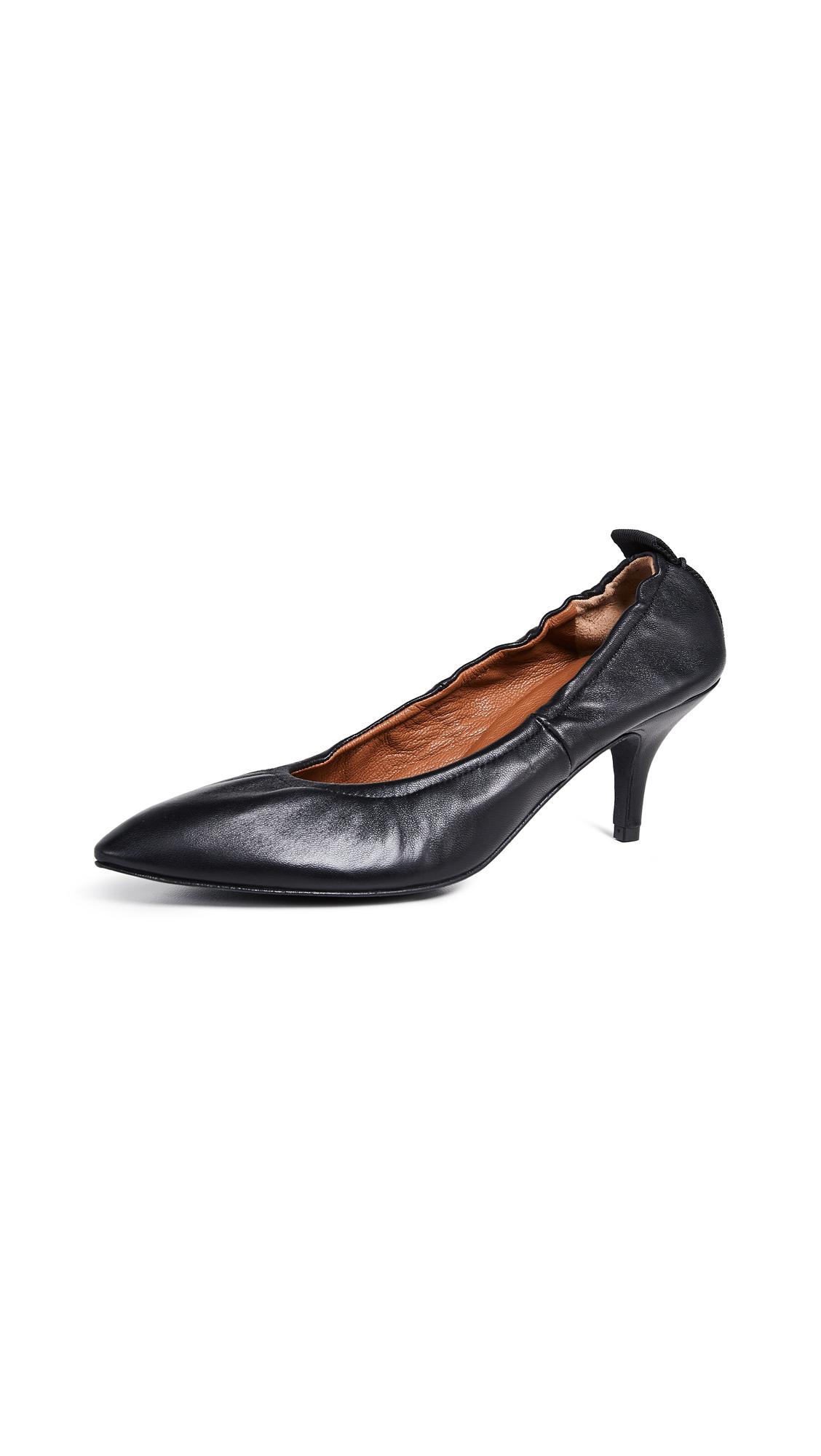 Joseph Dallin Kitten Heel Pumps - Black