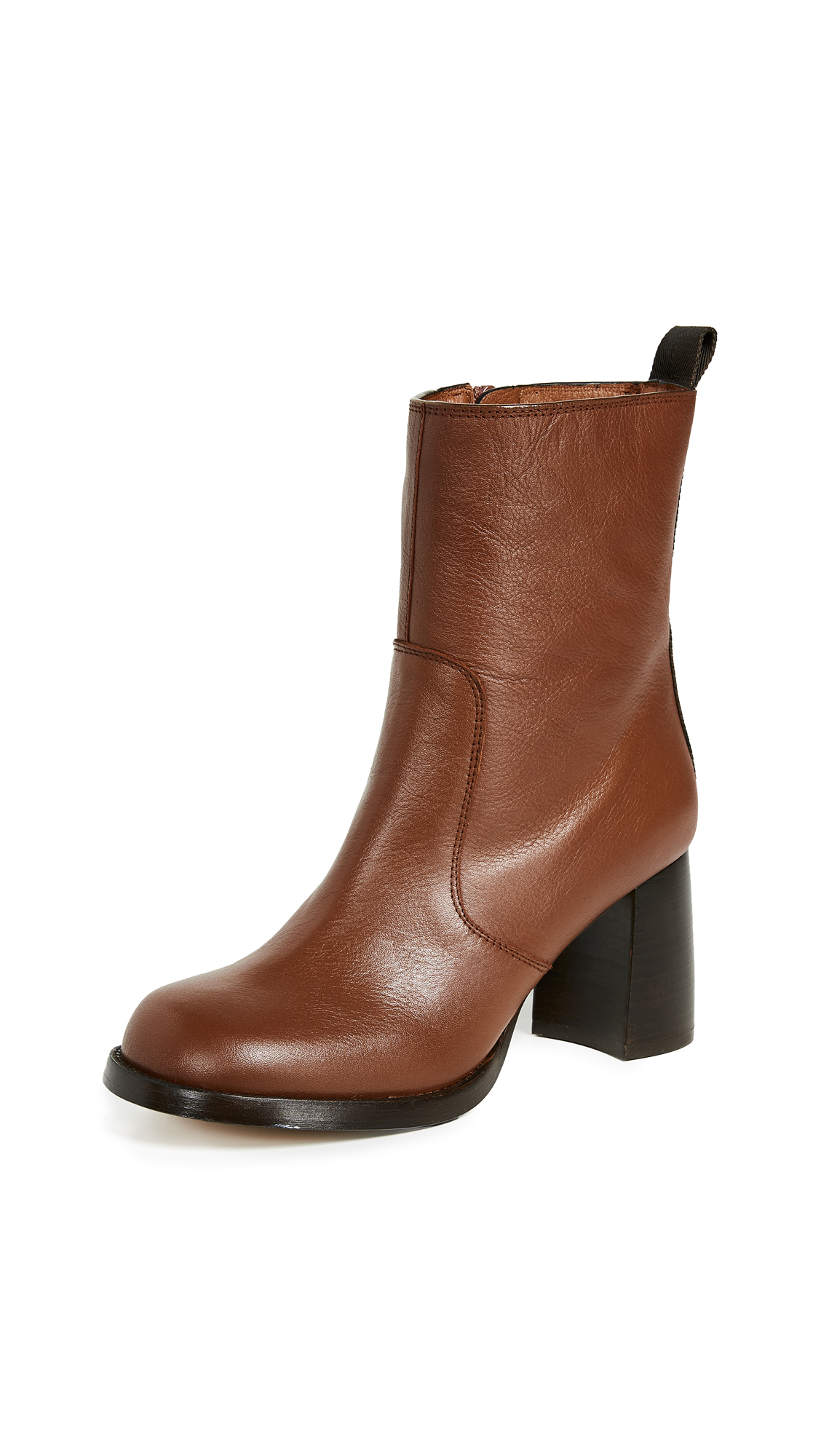 Joseph Dunkenson Short Booties - Brown