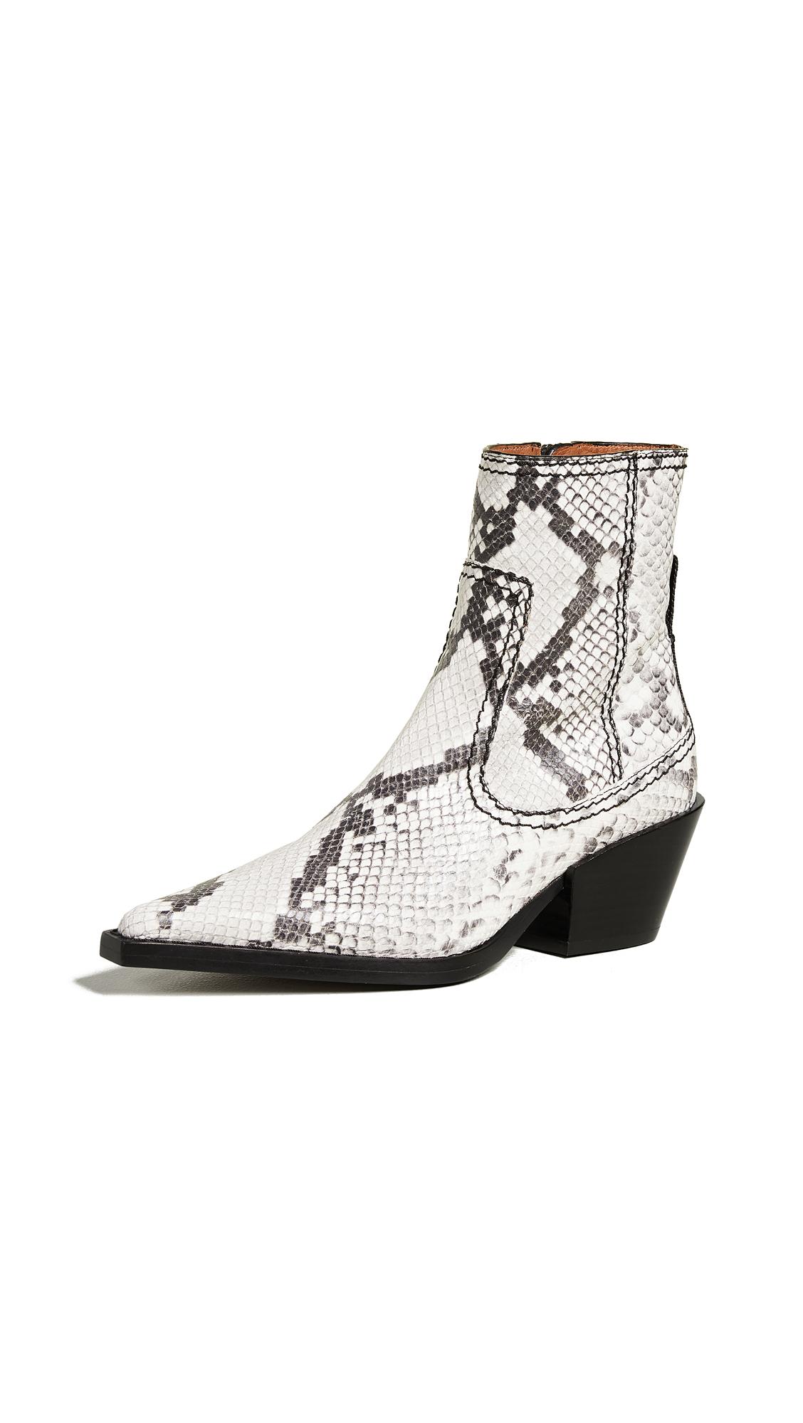 Joseph Rodeo Ankle Boots - Roccia