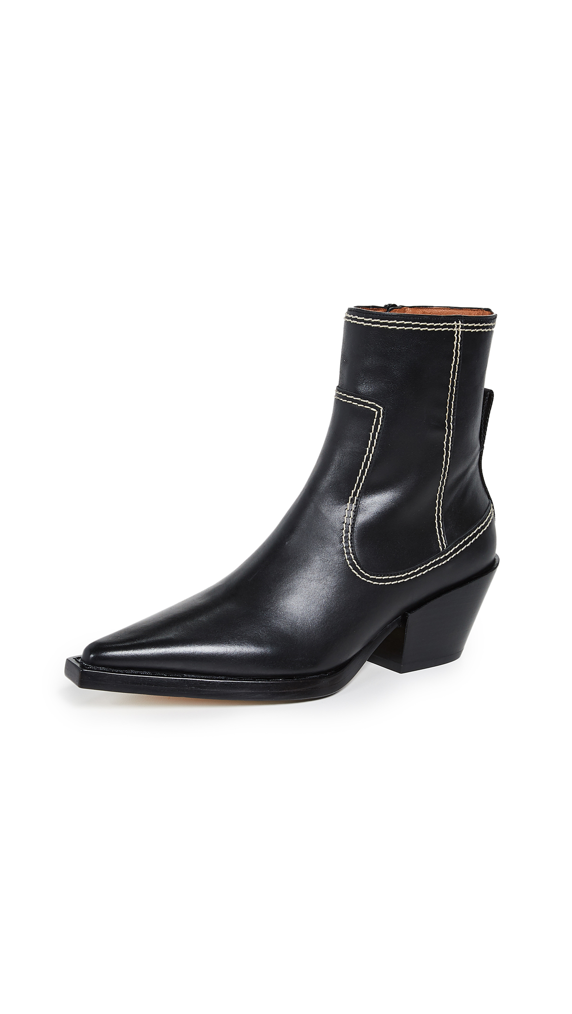 Joseph Rodeo Ankle Boots - Nero