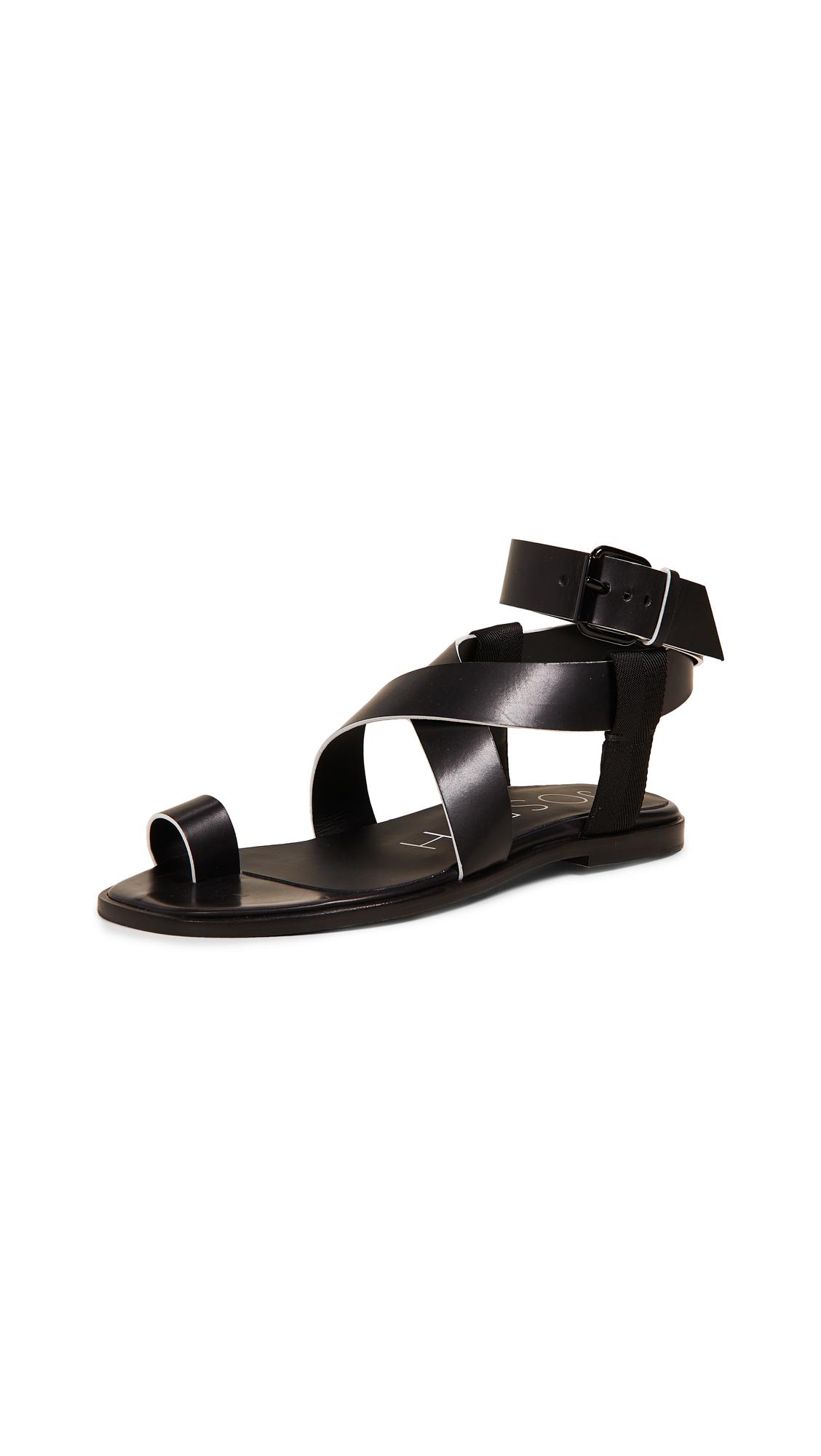 Joseph Trifoglio Sandals - Nero