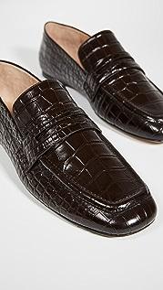 Joseph Croc Loafers