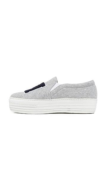 Joshua Sanders NY Slip On Sneakers