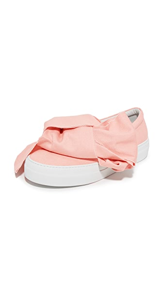 Joshua Sanders Bow Slip On Sneakers