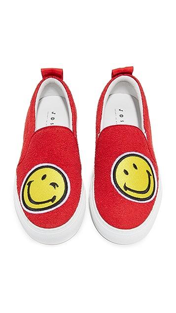Joshua Sanders Smile Slip On Sneakers
