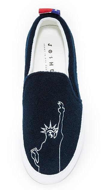 Joshua Sanders New York Slip On Sneakers