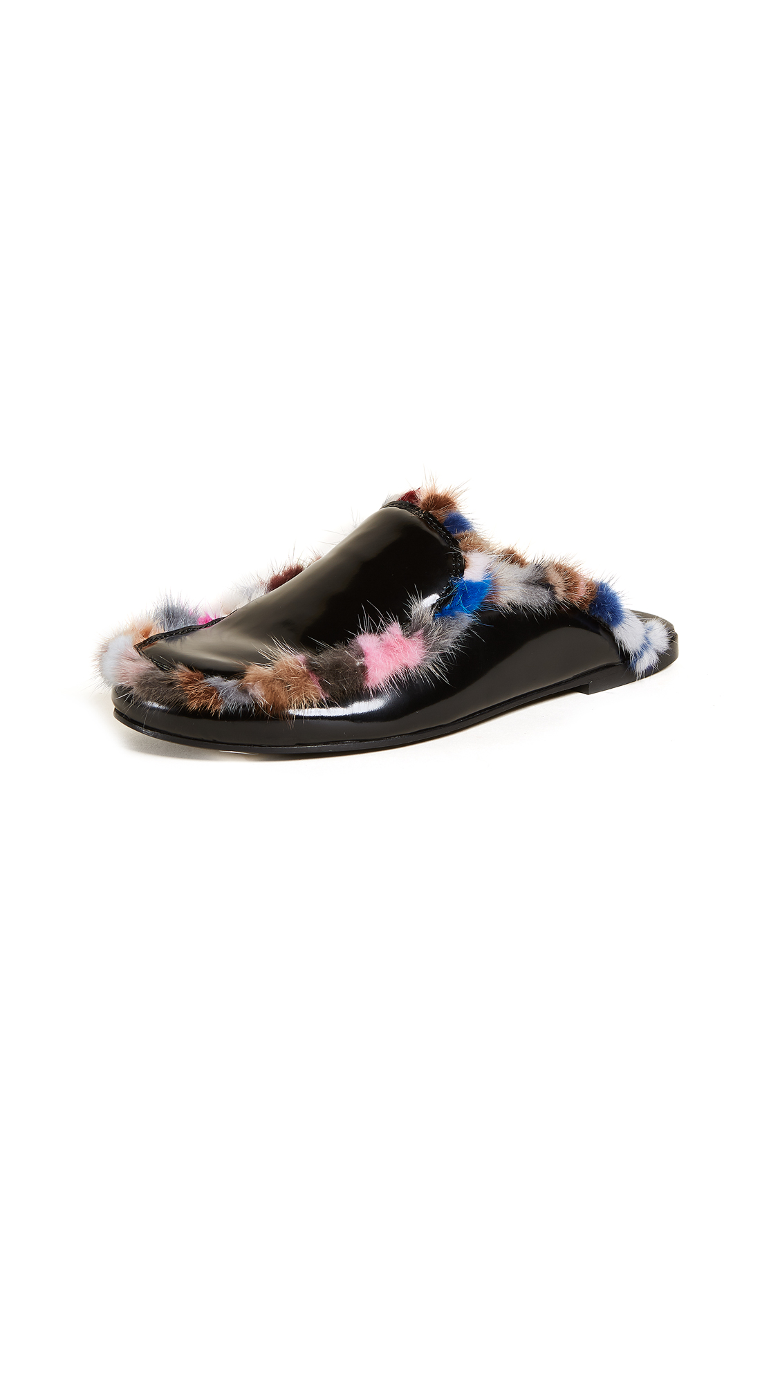 Joshua Sanders Borderline Mules - Multi/Black
