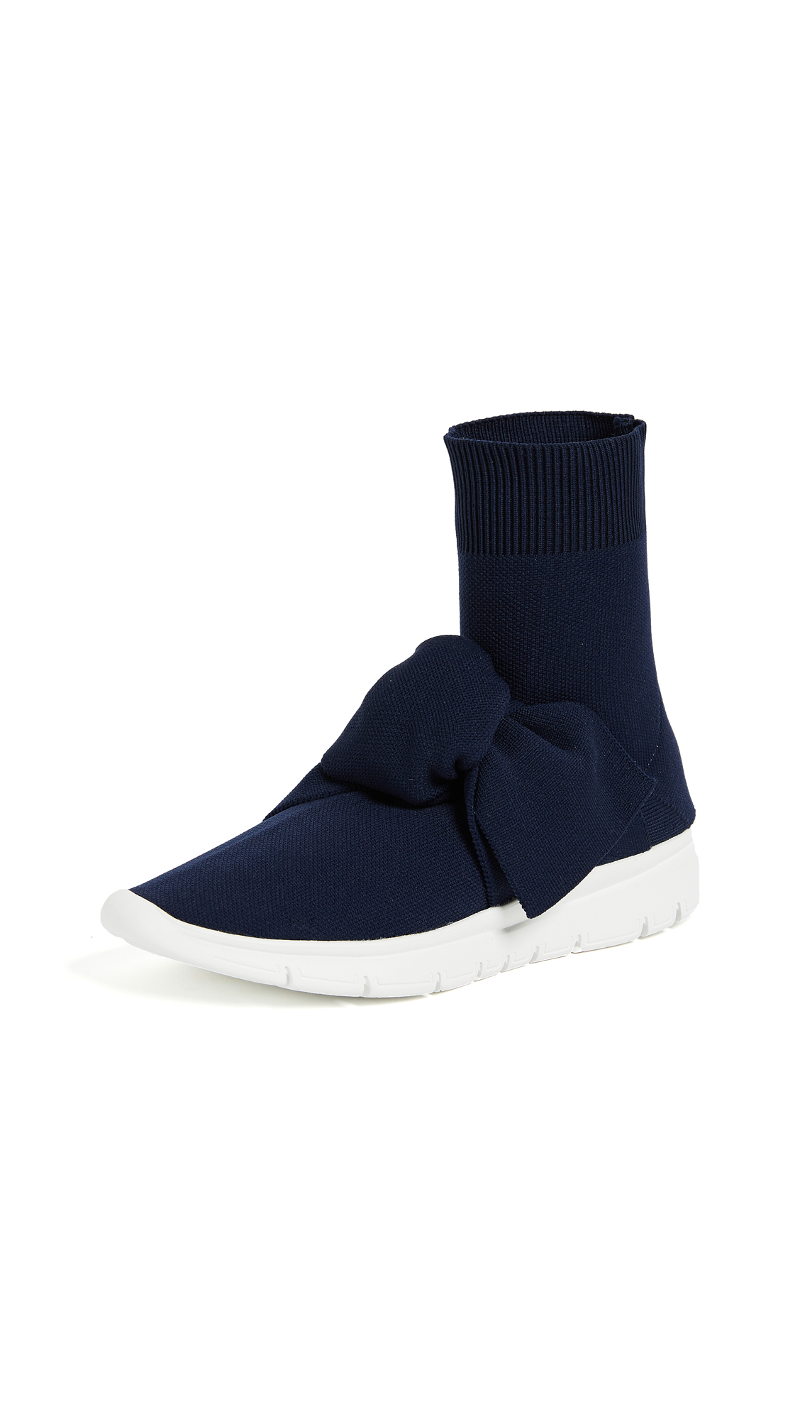 Joshua Sanders Sock Knot Sneakers - Blue